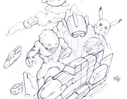 "Check out new work on my @Behance portfolio: ""Random Sketch"" http://be.net/gallery/51536055/Random-Sketch"