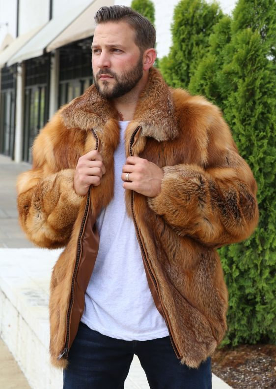 <p>This ruggedly handsome Men's Full Skin Fox Fur Bomber Jacket, gives you that masculine look you want in a fur. This elegant zippered jacket with natural colors of the outdoors, will keep you warm and make you look forward to the cold winter season. </p> <p>*Other color options available. This jacket has limited stock, so most color options are custom made to order. Please allow 2 weeks for delivery. For rush orders, please call 334-277-7610.</p> <p&...