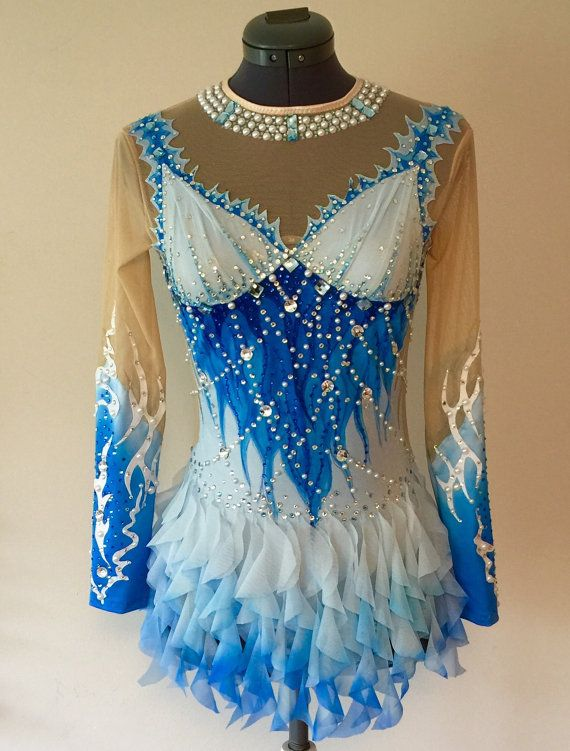 Rhythmic Gymnastics Competition Costume- SOLD