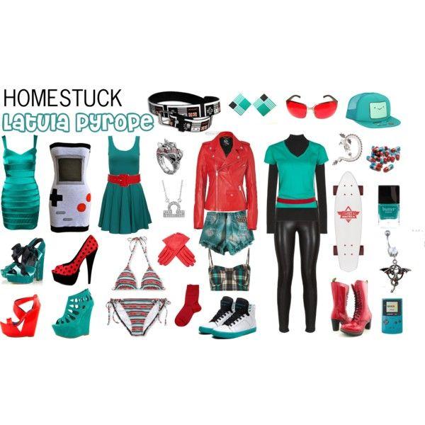 Homestuck Fashion: Latula Pyrope