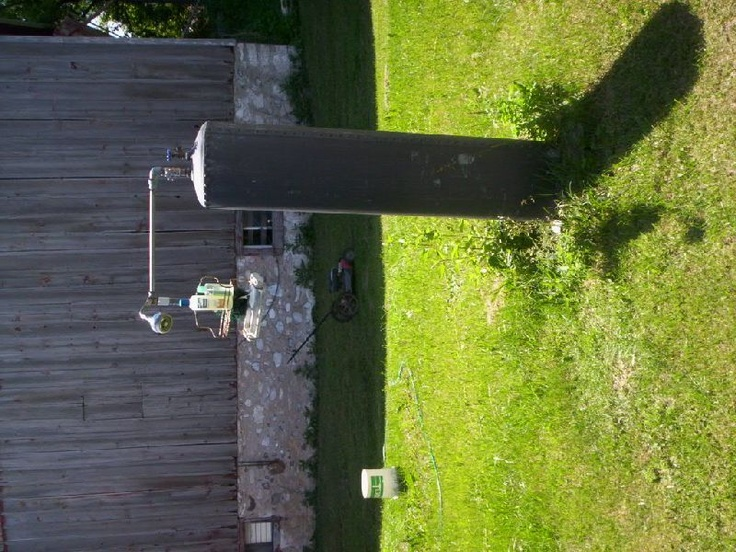 76 best images about old water heaters on pinterest for Tin can solar heater