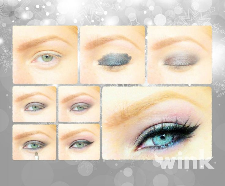 """Inšpirácia pre """"sivoočky"""". http://wink.sk/beauty/makeup/inspiracia-pre-sivoocky.aspx"""