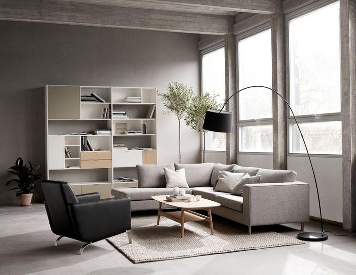 Copenhagen - white designer bookcase Sydney