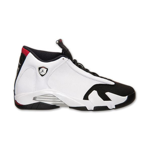 Men's Air Jordan Retro 14 Basketball Shoes ($56) ❤ liked on Polyvore featuring mens, men's shoes, jordans and shoes