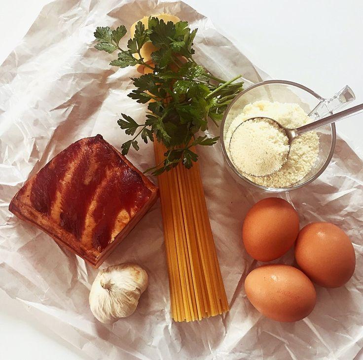 Hozzávalók-Spagetti alla carbonara