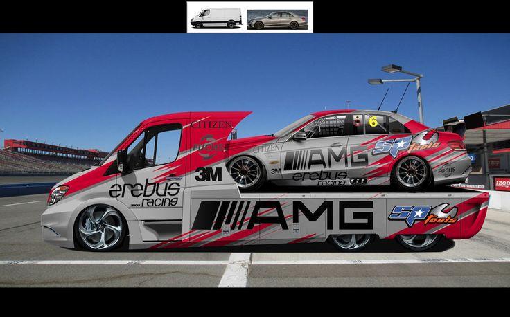 2012-Mercedes-Benz-race team by speedyjayw