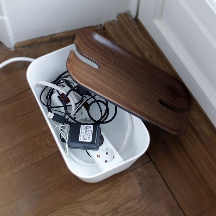 Kabelbox Hideaway auf WIE EINFACH! - Schöne Sachen, die das Leben einfach machen.