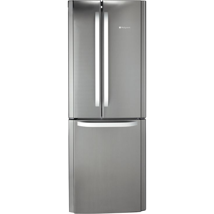 Hotpoint FFU3D X Fridge Freezer - Stainless Steel