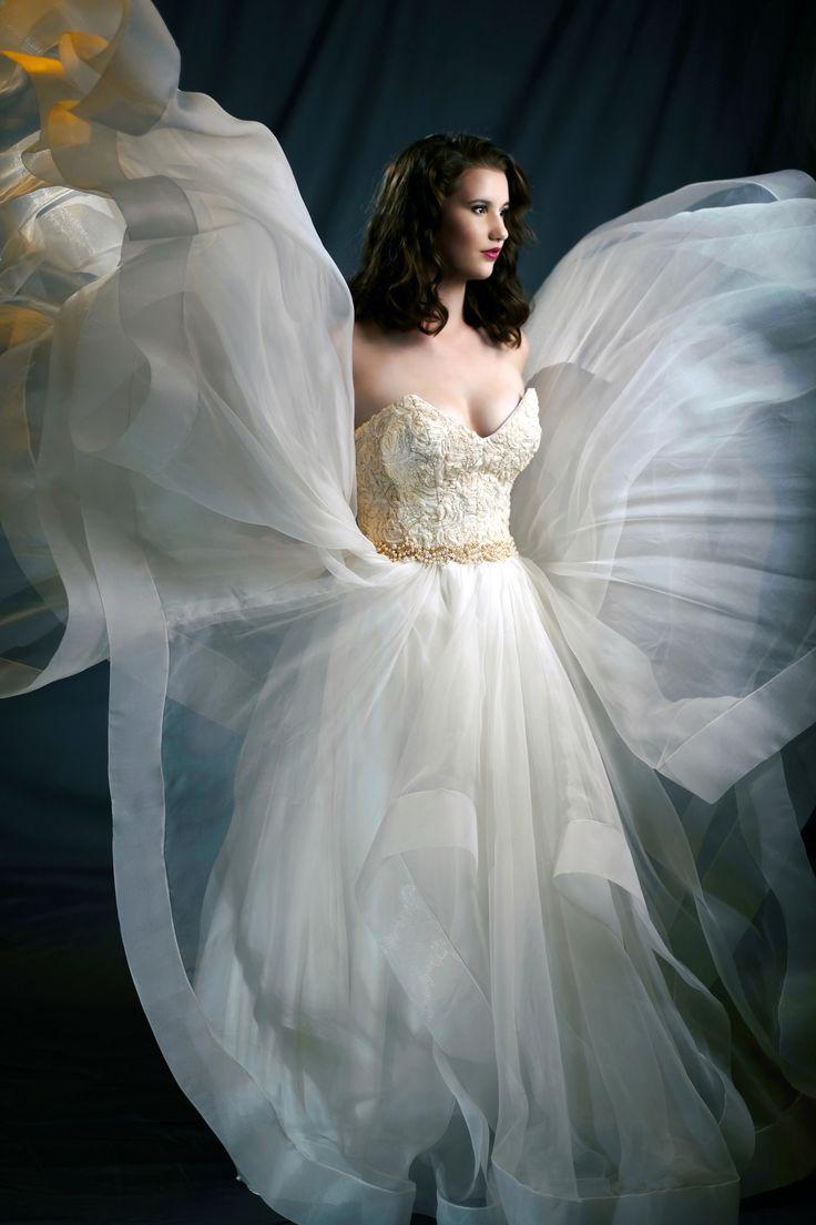 """Aurora"" Bridal Gown by Melanie Jayne. 2017 Bridal Collection."
