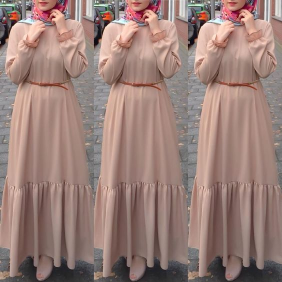 9ddc037602587 Maxi dresses with hijab styles – Just Trendy Girls: www.justtrendygir.