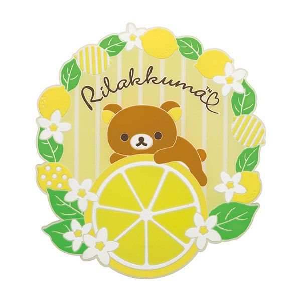 #Rilakkuma coaster -- Lemon collection -- March 2015 (・ω・)ノ