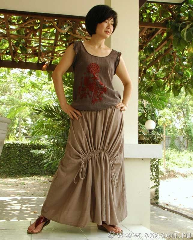 Тайская юбка в стиле «бохо». Мастер-класс | Дневник Иримед