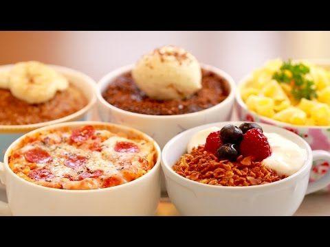 Microwave Mug Meals: 5 Unbelievable Recipes - Gemma's Bigger Bolder Baking | Mug Pizza | Mug Cornflakes