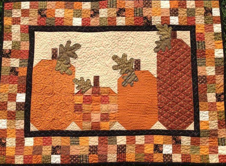 342 best Autumn Quilts images on Pinterest   Autumn quilts, Fall ... : fall quilt - Adamdwight.com