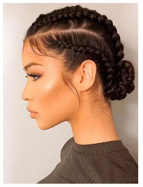 20 goddess braids hairstyles 2019 trend -  #braids #goddess #hairstyles #trend #hair
