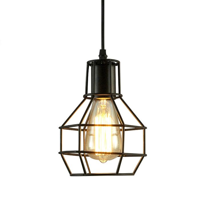 ASCELINA Nordic Loft Vintage Lamp Modern Creative Pendant Lights Home Industrial Lighting Iron Lampshade Bar Cafe