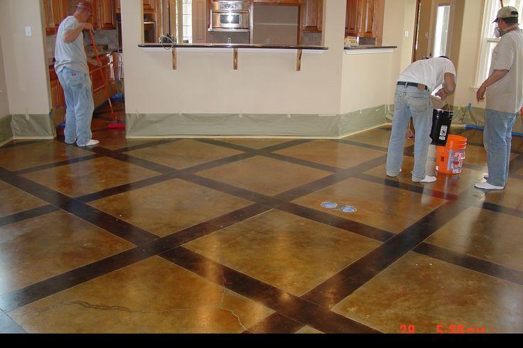 acid stained concrete floors concrete dye concrete staining concrete