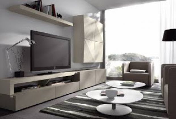 Salones ref sal99 mobelinde muebles a medida barcelona for Muebles tv barcelona