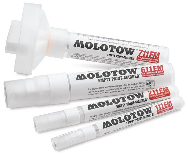Reviewing the Latest Quality Artist Markers: Molotow ...