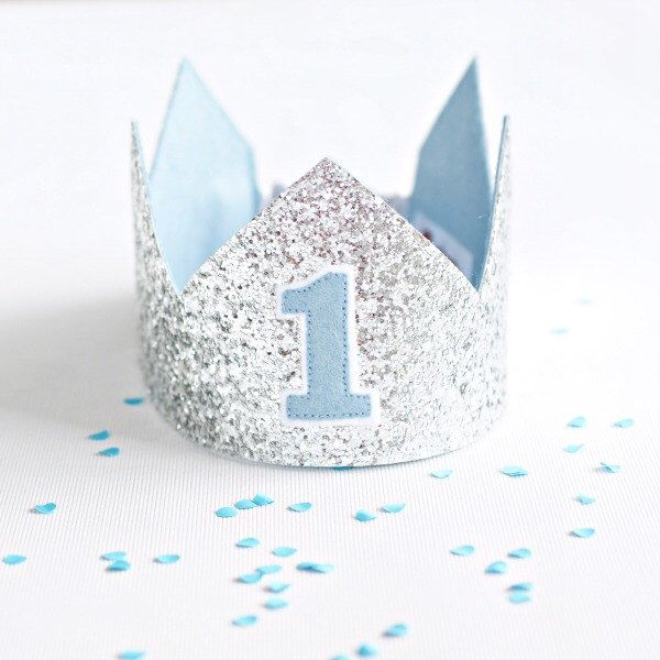 12 Best Blue And Silver First Birthday Images On Pinterest