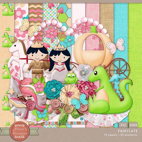 Fairytale Kit by Alexx's Designs