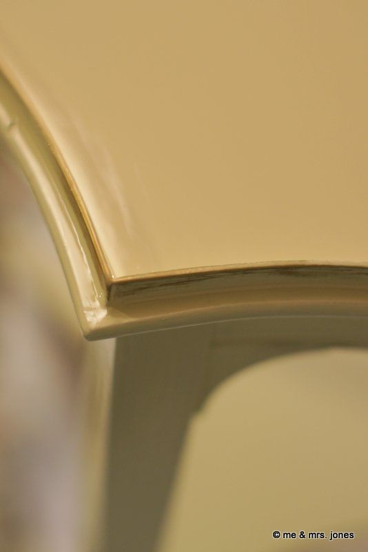DIY:  High Gloss Paint Finish Tutorial - very thorough DIY on how you can get a high gloss finish.
