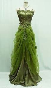 Forest faerie dress - I want a beautiful dress like this for my workings