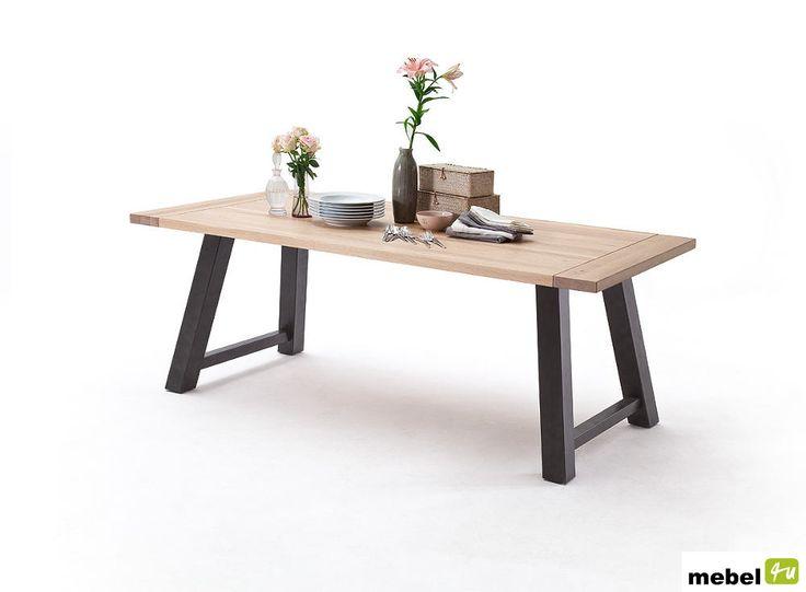 Stół dębowy AMALIA A - sklep meblowy