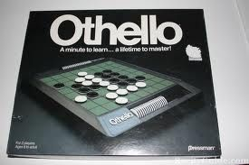 othello game - I am pretty good at this game, just get the corners and sides. #Othello, #games, #boardgames, #winning