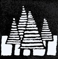 Image result for christmas lino cuts