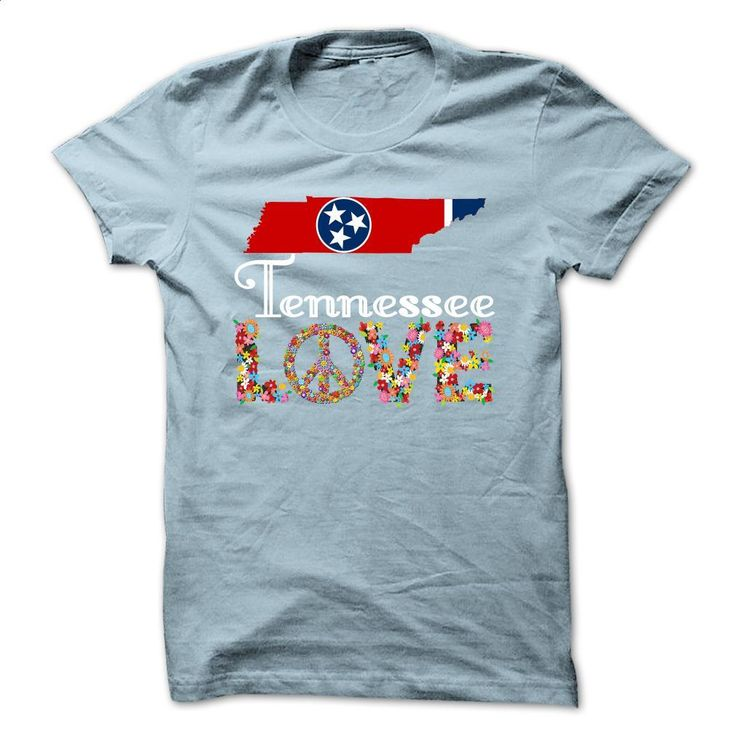 Tennessee Love T Shirts, Hoodies, Sweatshirts - #t shirt company #design shirt. ORDER NOW => https://www.sunfrog.com/States/Limited-Edition-Tennessee-Love-LightBlue-29010498-Guys.html?60505