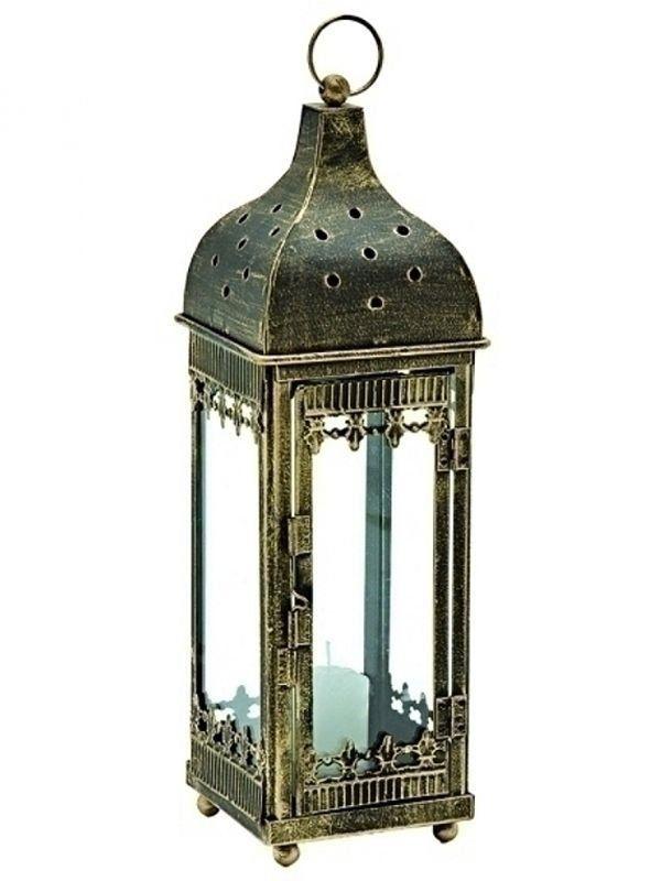 Lanterna Marroquina Rústica p/ Decoração com Velas 24cm - http://www.artesintonia.com.br/lanterna-marroquina-rustica-p-decoracao-com-velas-24cm