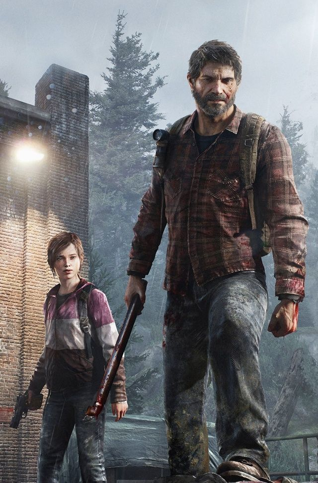 The Last of Us Ellie and Joel WINTER