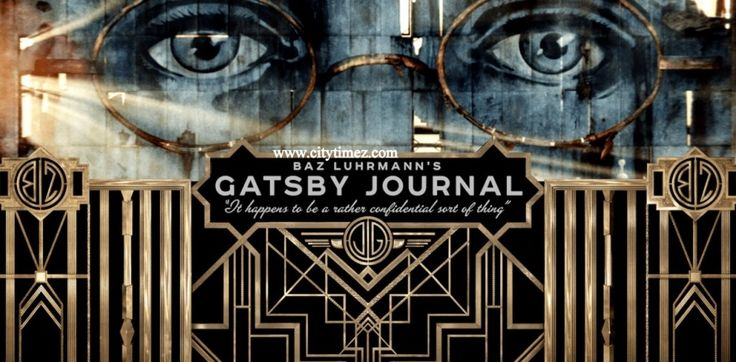 Screen-shot Of Gatsby Journal