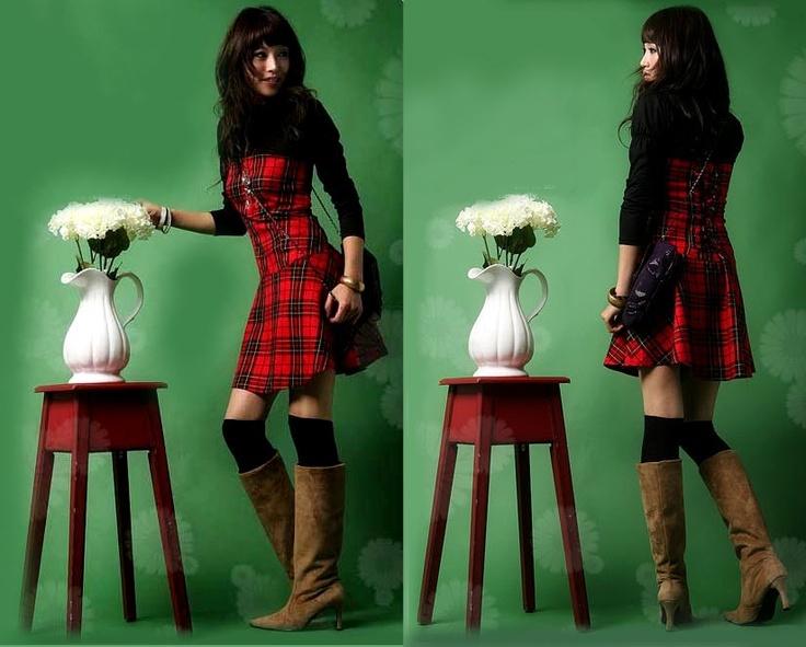Vestido escocés