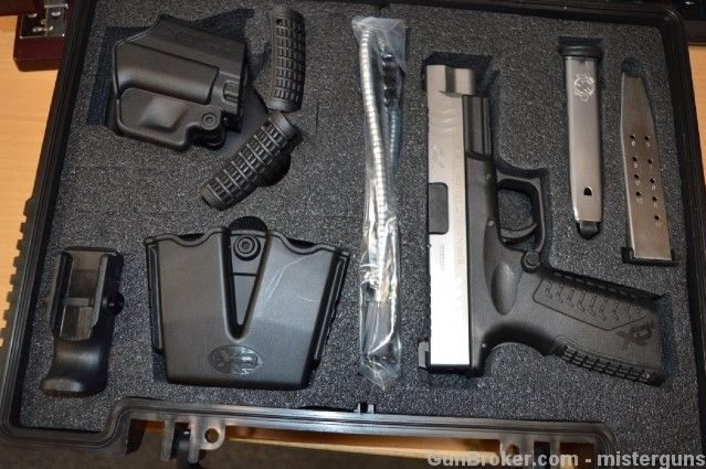 Springfield Armory XDM 45 4.5 Bitone Stainless SS : Semi Auto Pistols at GunBroker.com