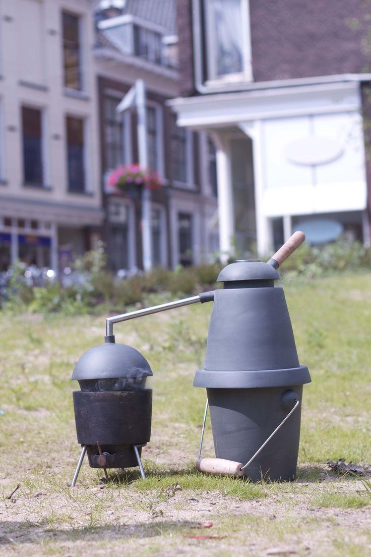 Cold smoke pot