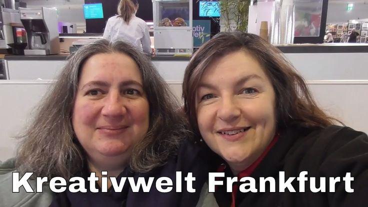 Kreativwelt Frankfurt 2017 | Bastelmesse | Rundgang  Wir waren für euch auf der Kreativwelt einer Bastelmesse im Herzen Deutschlands in Frankfurt.  Kommt mit uns auf einen Rundgang und seht was ihr verpasst habt.  Mit dabei waren Anja vom Kanal 21StamptStreet Nicole von Stempeldreams76 Bettina und Andrea sowie alles was in der deutschen Bastelszene Rang und Namen hat.  Nicole findet ihr hier:  https://www.youtube.com/channel/UCr5RVHc9IQh-jyCKi9mH8hA   Anja ist hier zu finden…