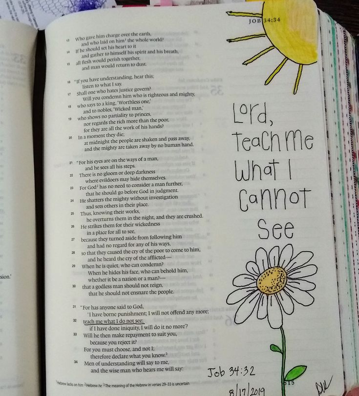 Job 3432 bible art journaling job bible bible