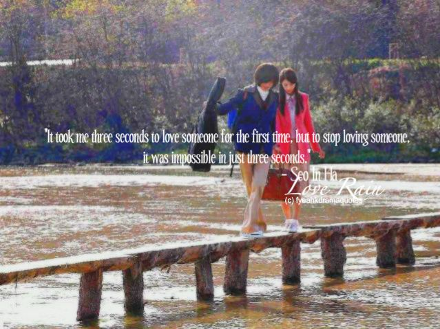 gallery for love in rain quotes