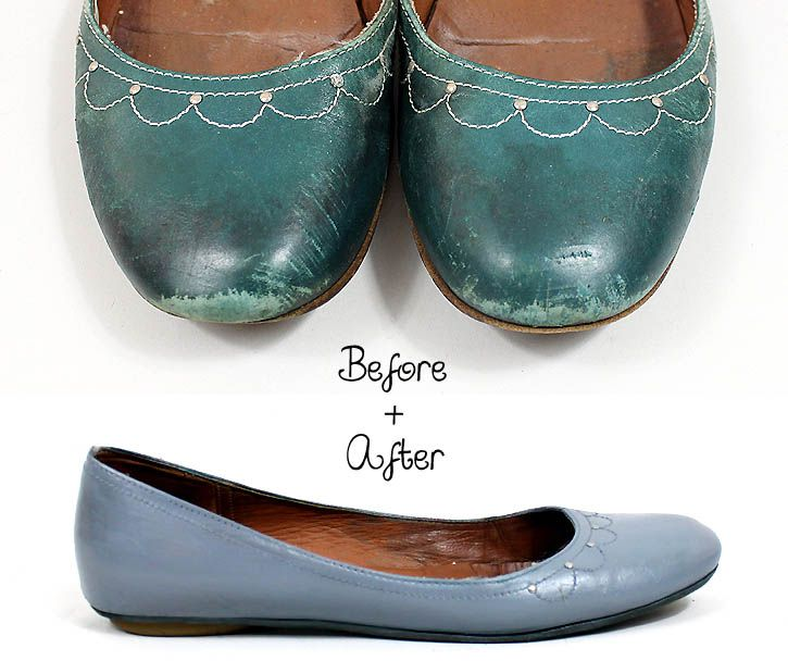 how to fix torn leather shoes