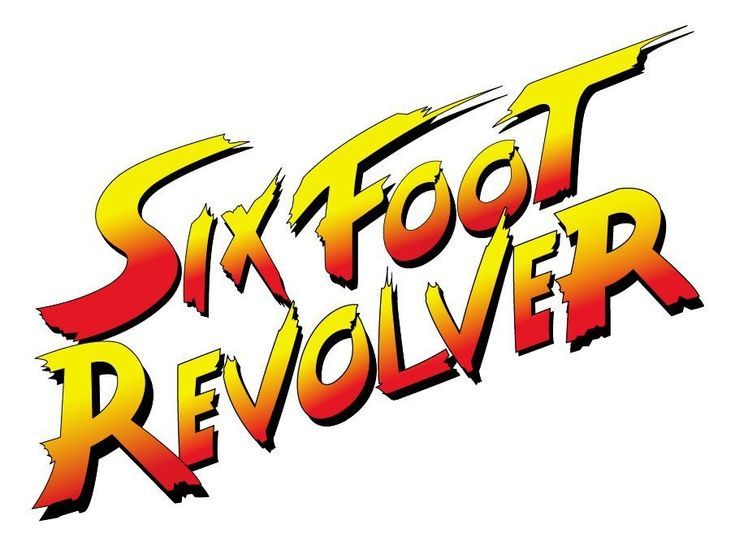 Six Foot Revolver SF logotype  The Chosen One EP on Bandcamp https://sixfootrevolver.bandcamp.com/releases  #retrogaming #streetfighter #cycomind