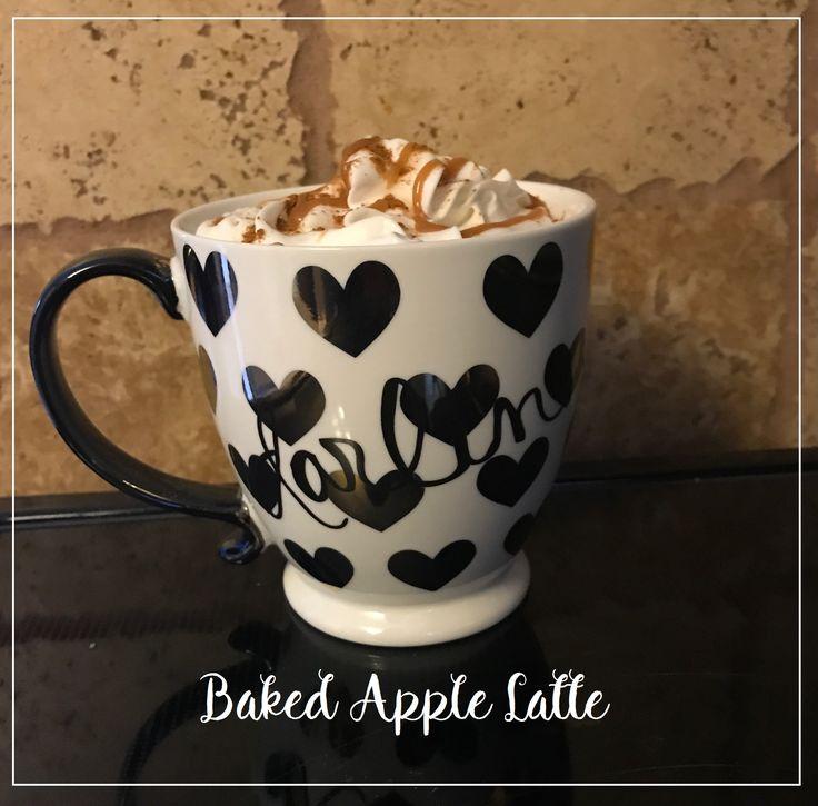 Starbucks Dupe of Bake Apple Latte //  DIY Carmel Apple Spice