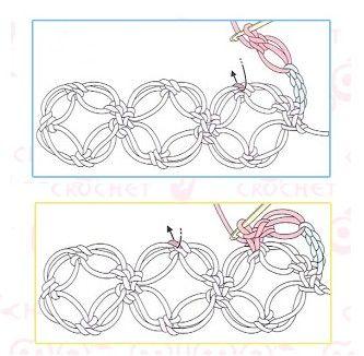 Bolero de crochet elegante decorado con perlas, para una ocasión especial.Hecho en punto de Salomón, este trabajo en crochet es magnífco y elegante. Aprende a hacer el punto de este bolero a través de imágenes y del vídeo. El video: … Ler mais... →