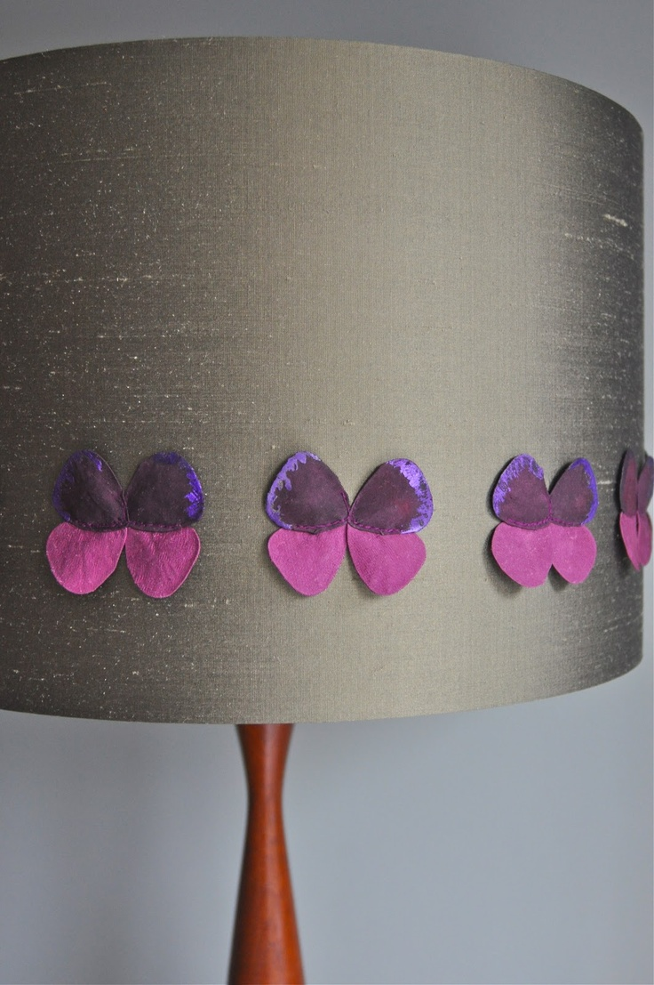 Papilio Lampshade - Kirsty {Available in other colours or why not commission a bespoke colour}