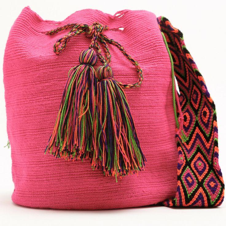 Cabo Wayuu Mochila   WAYUU TRIBE – WAYUU TRIBE   Handmade Bohemian Bags
