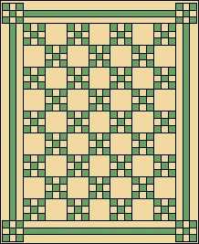 Free Quilt and Quilt Block Patterns: Free St. Patrick's Day or Irish Quilt Patterns
