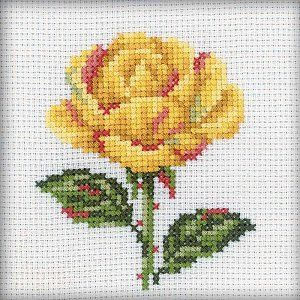 RTO Cross Stitch Kit - Yellow Rose – Stoney Creek Online Store