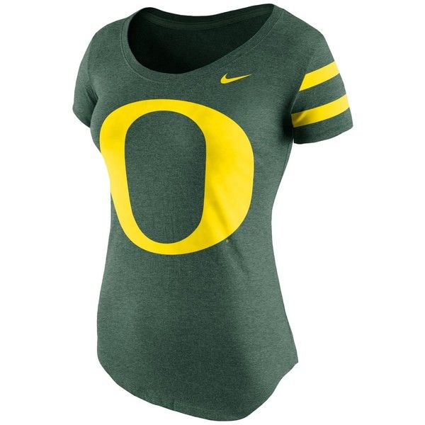 Nike Women's Oregon Ducks Scoop Dna T-Shirt ($32) ❤ liked on Polyvore