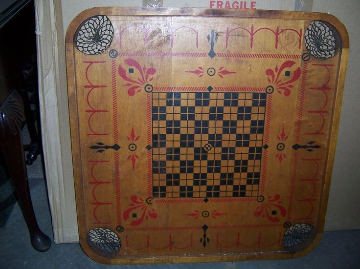 Carrom Board Game Pieces images